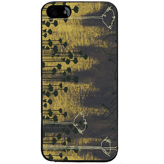 Ayaashii Trees Painting Back Case Cover for Apple iPhone 5::Apple iPhone 5S