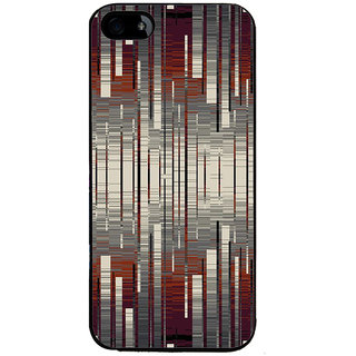 Ayaashii Stripes Abstract Back Case Cover for Apple iPhone 5::Apple iPhone 5S