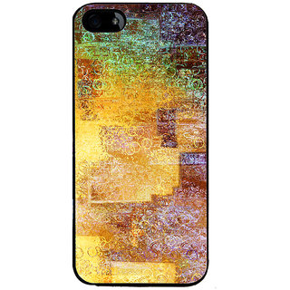 Ayaashii Circle Pattern Painting Back Case Cover for Apple iPhone 5::Apple iPhone 5S