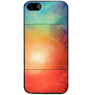 Ayaashii Colorful Galaxy Back Case Cover for Apple iPhone 5::Apple iPhone 5S