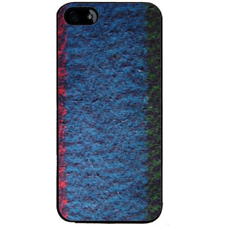 Ayaashii Blanket Cloth Back Case Cover for Apple iPhone 5::Apple iPhone 5S