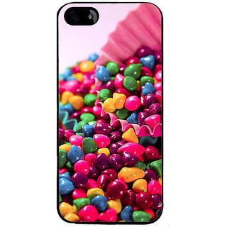 Ayaashii Colorful Stones Back Case Cover for Apple iPhone 5::Apple iPhone 5S