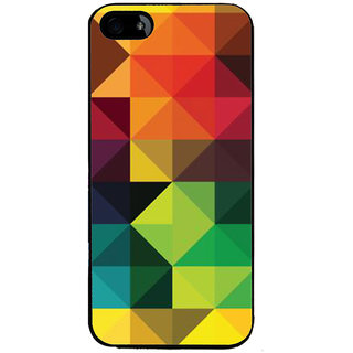 Ayaashii Triangle Pattern Back Case Cover for Apple iPhone 5::Apple iPhone 5S