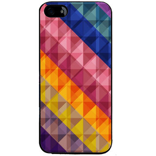 Ayaashii Diamond Pattern Back Case Cover for Apple iPhone 5::Apple iPhone 5S
