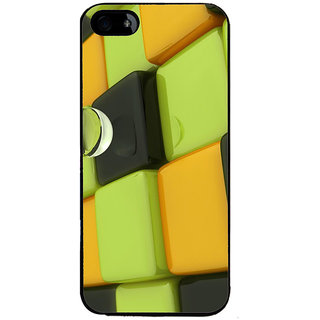 Ayaashii Square Animated Pattern Back Case Cover for Apple iPhone 5::Apple iPhone 5S