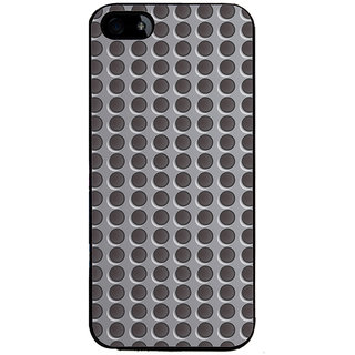 Ayaashii Round Buttons Pattern Back Case Cover for Apple iPhone 5::Apple iPhone 5S