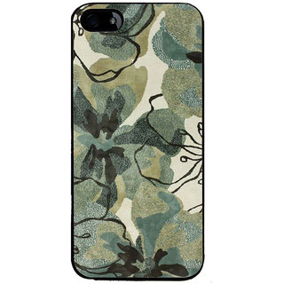Ayaashii Flower Print Back Case Cover for Apple iPhone 5::Apple iPhone 5S