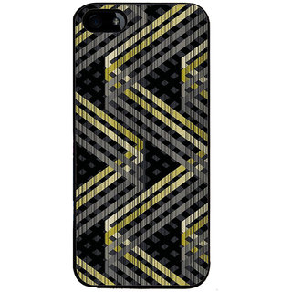 Ayaashii Zigzag Pattern Back Case Cover for Apple iPhone 5::Apple iPhone 5S