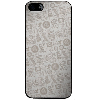 Ayaashii Quotes/Messages Pattern Back Case Cover for Apple iPhone 5::Apple iPhone 5S