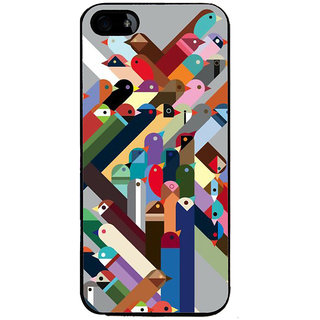 Ayaashii Birds Pattern Back Case Cover for Apple iPhone 5::Apple iPhone 5S