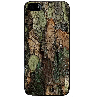 Ayaashii Colorful Tree Bark Back Case Cover for Apple iPhone 5::Apple iPhone 5S