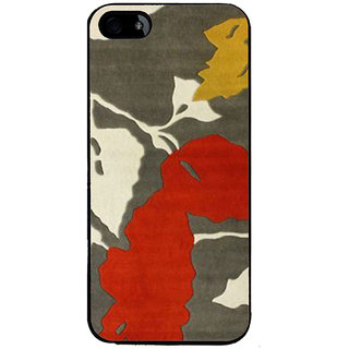 Ayaashii Leaf Pattern Back Case Cover for Apple iPhone 5::Apple iPhone 5S