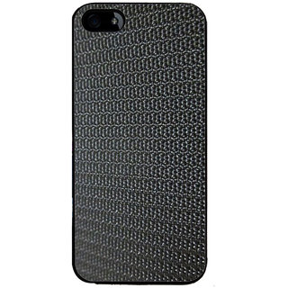 Ayaashii Black Rough Pattern Back Case Cover for Apple iPhone 5::Apple iPhone 5S