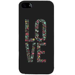 Ayaashii LO VE Back Case Cover for Apple iPhone 5::Apple iPhone 5S