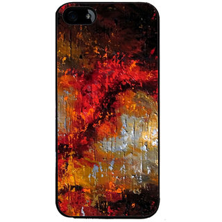 Ayaashii Colorful Painting Back Case Cover for Apple iPhone 5::Apple iPhone 5S