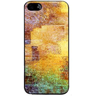 Ayaashii Shade Circle Pattern Back Case Cover for Apple iPhone 5::Apple iPhone 5S