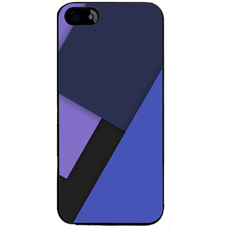 Ayaashii Blue Color Pattern Back Case Cover for Apple iPhone 5::Apple iPhone 5S