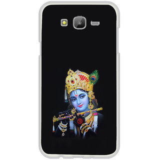 ifasho Lord Krishna with Flute Back Case Cover for Samsung Galaxy On 7