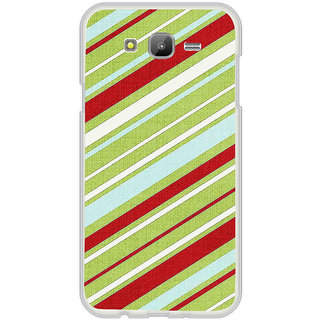 ifasho Design lines pattern Back Case Cover for Samsung Galaxy On 7