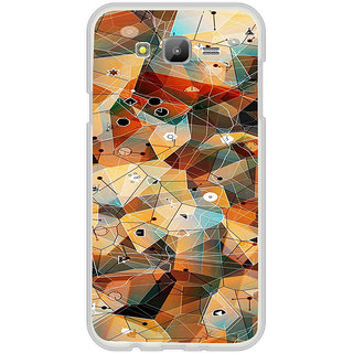 ifasho Modern Theme of royal design in colorful pattern Back Case Cover for Samsung Galaxy On 7