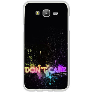 ifasho dont care quotes Back Case Cover for Samsung Galaxy On 7