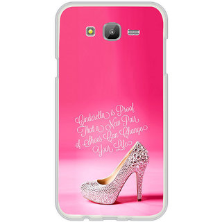 ifasho life changing quote Back Case Cover for Samsung Galaxy On 7