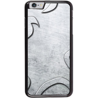 Ayaashii Greyish Design Back Case Cover for Apple iPhone 6S