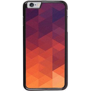Ayaashii Orange Design Back Case Cover for Apple iPhone 6S