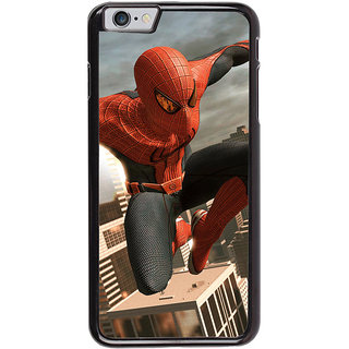 Ayaashii Spiderman Back Case Cover for Apple iPhone 6S