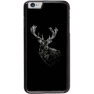 Ayaashii Deer Shade In Black Background Back Case Cover for Apple iPhone 6S
