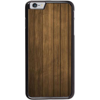 Ayaashii Wooden Pattern Back Case Cover for Apple iPhone 6S