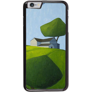 Ayaashii Sketch Of An House Back Case Cover for Apple iPhone 6S