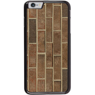 Ayaashii Brick Pattern Back Case Cover for Apple iPhone 6S