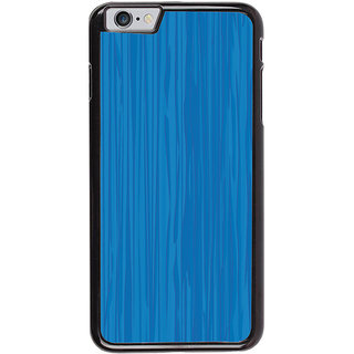 Ayaashii Blue Layered Pattern Back Case Cover for Apple iPhone 6S