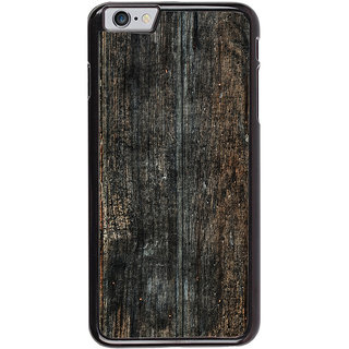 Ayaashii Old Wood Shaded Pattern Back Case Cover for Apple iPhone 6S