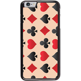 Ayaashii Collection OF Play Cards Symbol Back Case Cover for Apple iPhone 6S