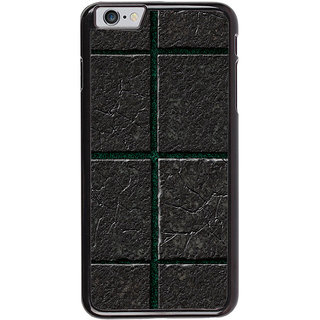 Ayaashii Black Marble Pattern Back Case Cover for Apple iPhone 6S