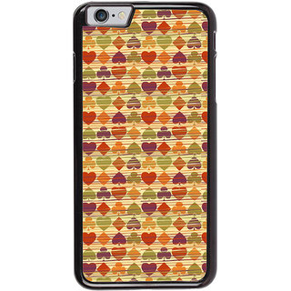 Ayaashii Playcard Pattern Back Case Cover for Apple iPhone 6S