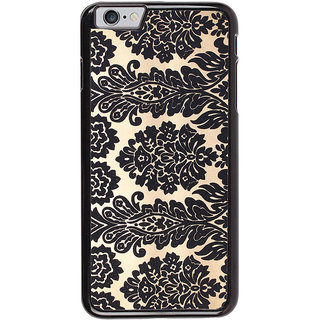 Ayaashii Floral Design Pattern Back Case Cover for Apple iPhone 6S