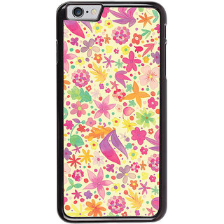 Ayaashii Flowers Design Back Case Cover for Apple iPhone 6S