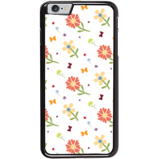 Ayaashii Flower Pattern Back Case Cover for Apple iPhone 6