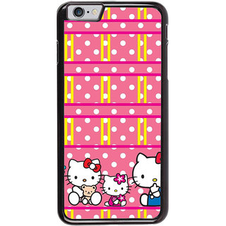 Ayaashii Kitty in Dotted Pattern Back Case Cover for Apple iPhone 6S