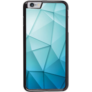Ayaashii Triangle Shaded Pattern Back Case Cover for Apple iPhone 6