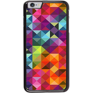Ayaashii Box Pattern Back Case Cover for Apple iPhone 6S