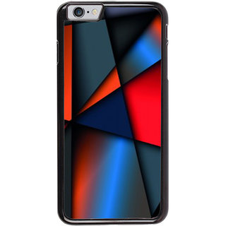 Ayaashii Strip Shaded Pattern Back Case Cover for Apple iPhone 6