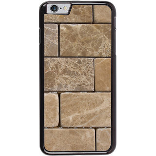 Ayaashii Marble Bricks Pattern Back Case Cover for Apple iPhone 6