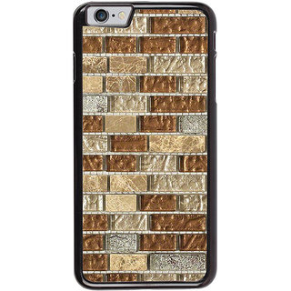 Ayaashii Marble Bricks Pattern Back Case Cover for Apple iPhone 6S