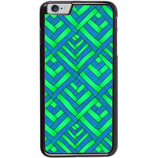 Ayaashii Diamond Pattern Back Case Cover for Apple iPhone 6S