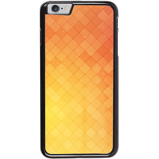 Ayaashii Checks Abstract Back Case Cover for Apple iPhone 6S