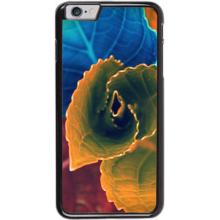 Ayaashii Colorful Leafs Back Case Cover for Apple iPhone 6